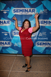 """1210241-020    LOS ANGELES, CA - OCTOBER 17: The opening night performance of """"Seminar"""" at Center Theatre Goup/Ahmanson Theatre on October 17, 2012 in Los Angeles, California. (Photo by Ryan Miller/Capture Imaging)"""
