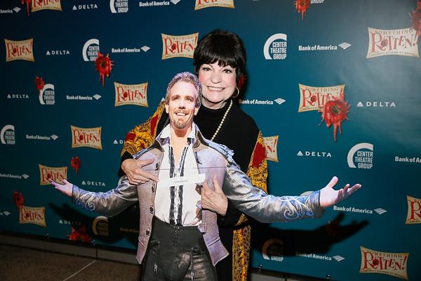 """Something Rotten!"" opening night at Center Theatre Group/Ahmanson Theatre, Los Angeles, America - 21 Nov 2017"
