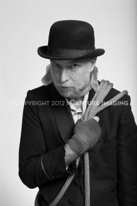 """LOS ANGELES, CA - MARCH 2: The CTG """"Waiting for Godot"""" portraits on March 2, 2012 in Los Angeles, California. (Photo by Ryan Miller/Capture Imaging)"""
