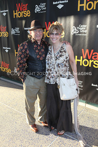 """1206187-004    LOS ANGELES, CA - JUNE 30: The opening night performance of """"War Horse"""" at Center Theatre Goup/Ahmanson Theatre on June 30, 2012 in Los Angeles, California. (Photo by Ryan Miller/Capture Imaging)"""