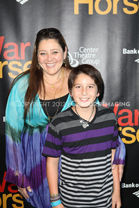 """1206187-023    LOS ANGELES, CA - JUNE 30: The opening night performance of """"War Horse"""" at Center Theatre Goup/Ahmanson Theatre on June 30, 2012 in Los Angeles, California. (Photo by Ryan Miller/Capture Imaging)"""