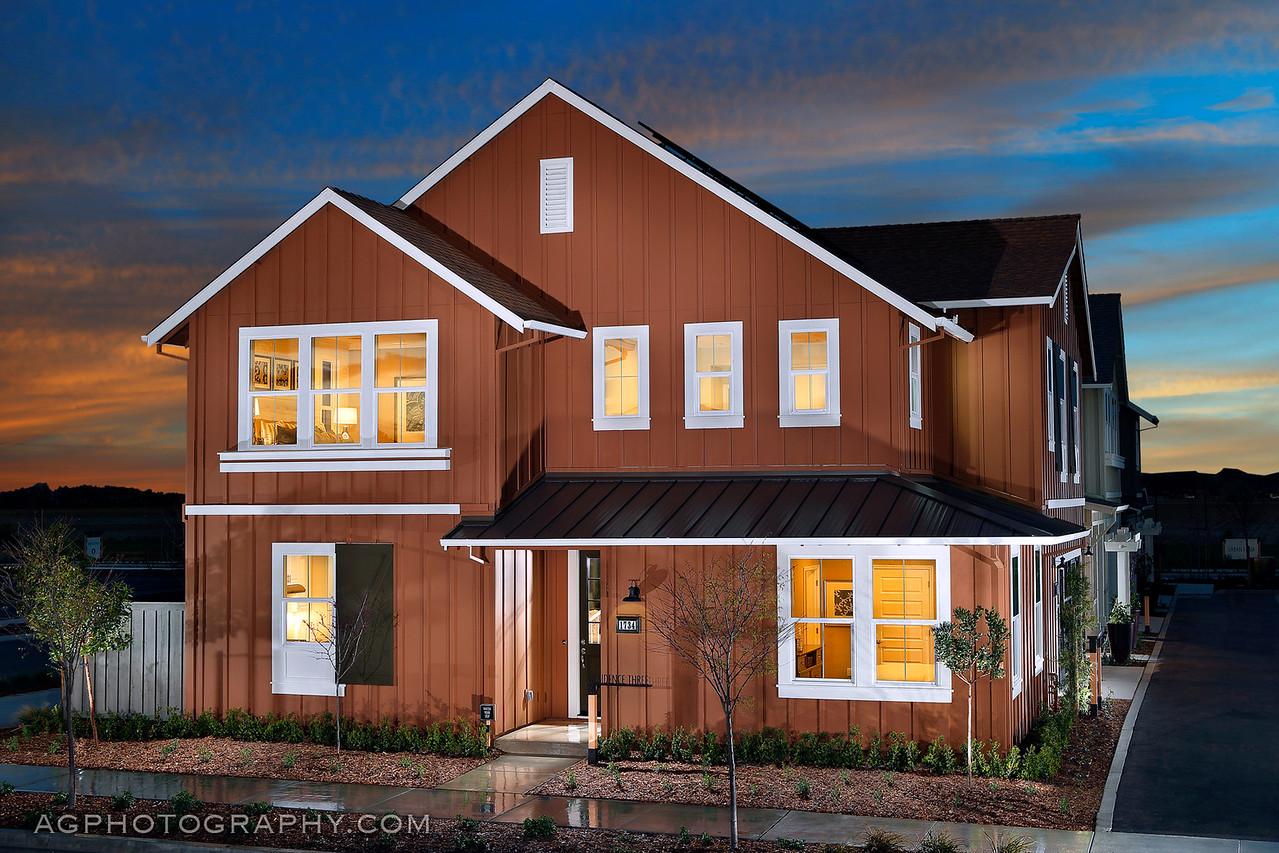 Beech at Cannery, CalAtlantic Homes, Davis, CA, 3/1/16.
