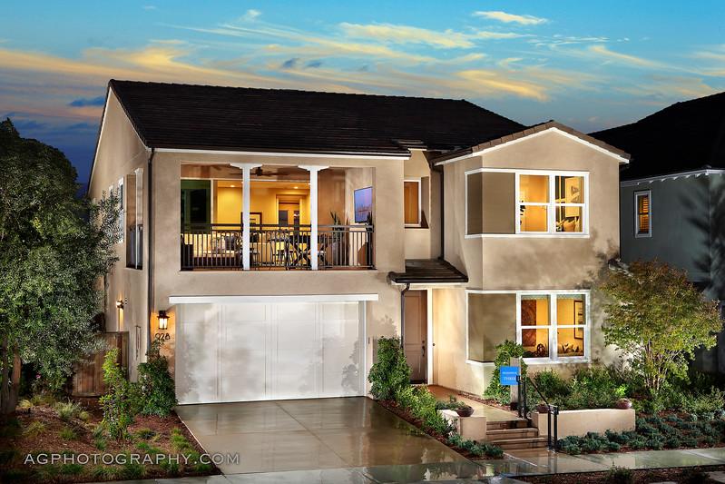 Castellena at Escaya by Cal Atlantic Homes, Chula Vista, CA, 6/30/17.