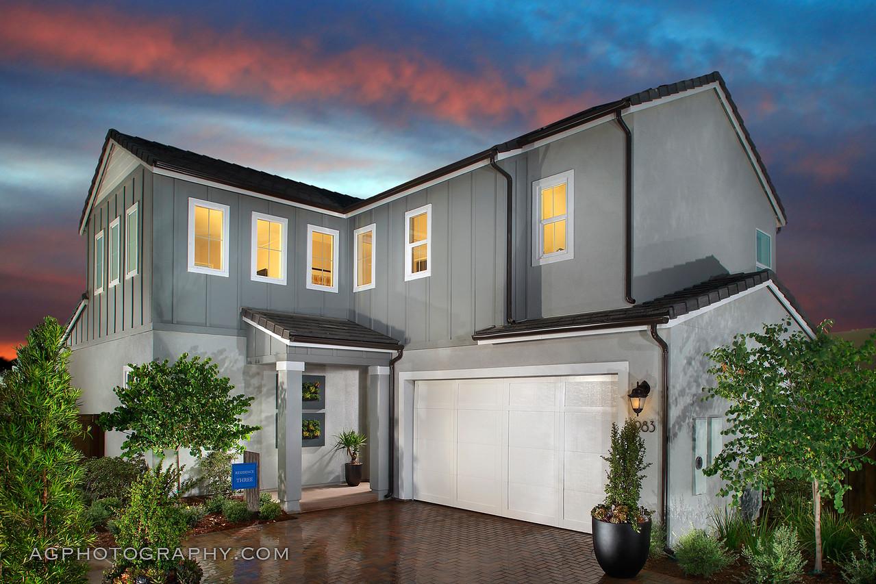 Indigo at Escaya by Cal Atlantic Homes, Chula Vista, CA, 6/19/17.