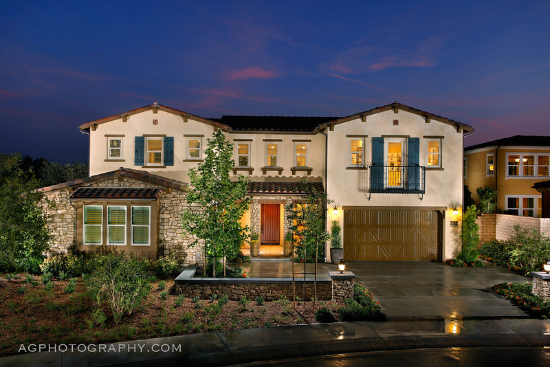 Montellano Estates Models by CAL Atlantic Homes, Thousand Oaks, CA, 5/20/16.