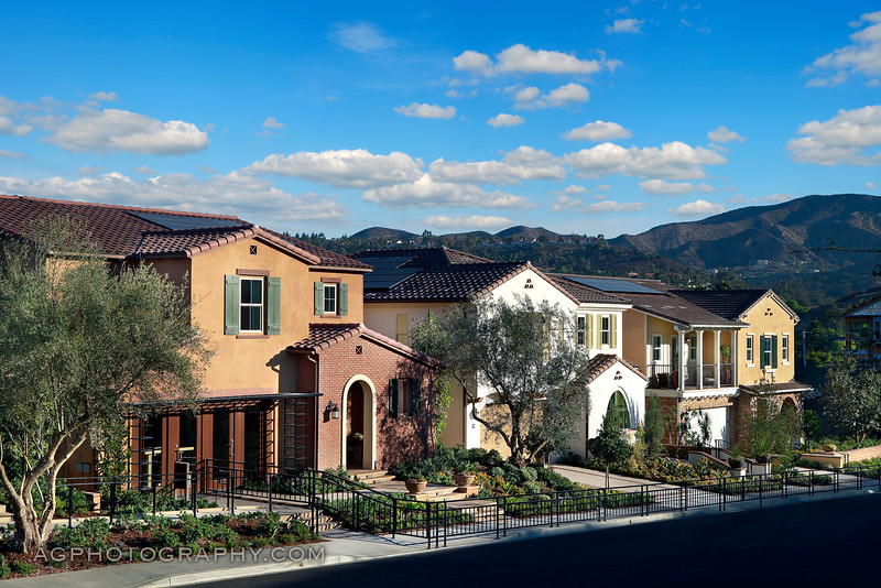 Skyridge Models by CalAtlantic Homes, Mission Viejo, CA. 8/19/16.