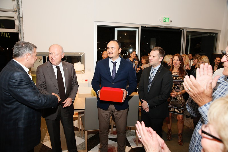 Calligaris OC opening at South Coast Collection in Costa Mesa