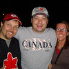 Tom Whitton, Paul Szekely and Chantal Messier. Canada Day 2006