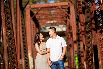 Carlene and Johnson Engagement session
