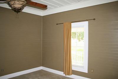 Master bedroom prerenovation july 2009