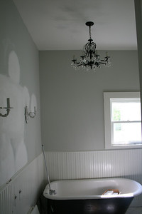 guest bathroom, during renovation