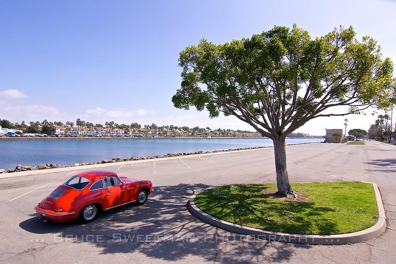 Something nice under the tree<br /> 1964 Porsche 356C 2000GS<br /> Long Beach, CA