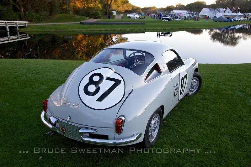 1959 Fiat Abarth 750 Record Monza Zagato