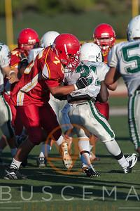 CCHS vs Helix JV Football 9-14-2012