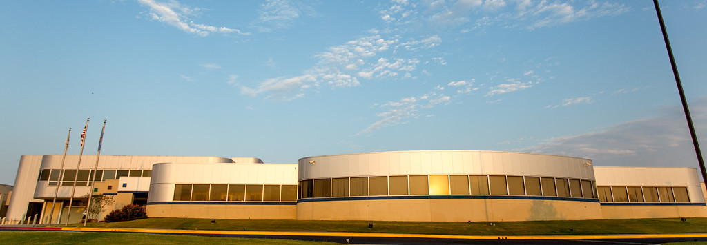 Drumright Campus at sunrise
