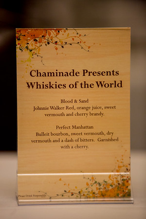 Chaminade Resort Whiskies