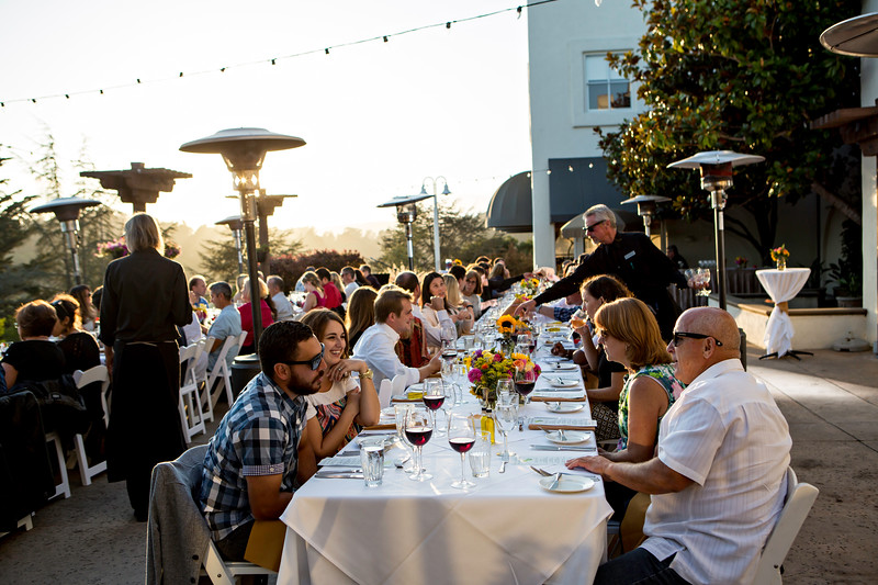 Chaminade Resort and Spa Farm to table wine dinner - September 2014-33