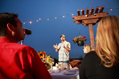 Chaminade Resort and Spa Farm to table wine dinner - September 2014-72