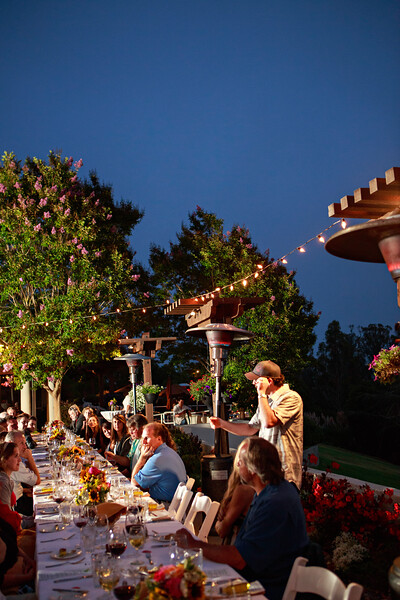 Chaminade Resort and Spa Farm to table wine dinner - September 2014-75