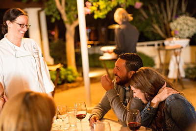Chaminade Resort and Spa Farm to table wine dinner - September 2014-145