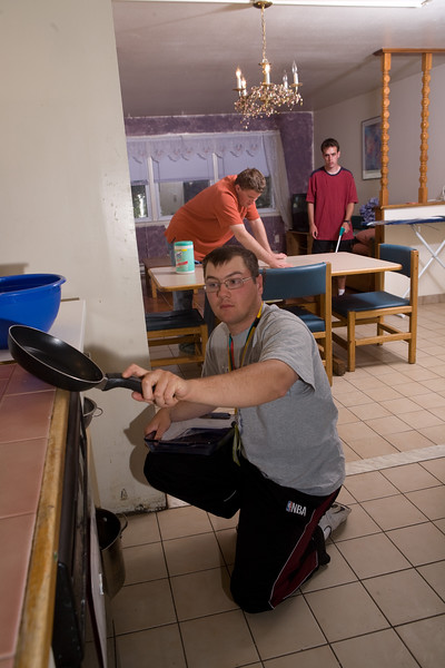Chpel Haven clients cooking, cleaning, etc...