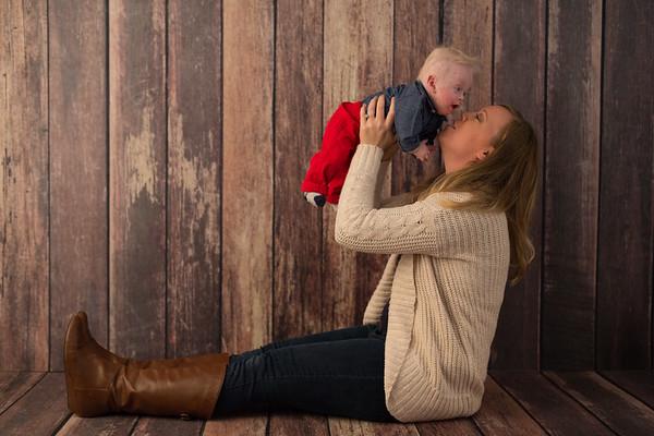 Portage Studio One Year Baby Portraits W Kane