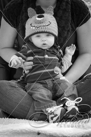 Baby Grayson 4 Months
