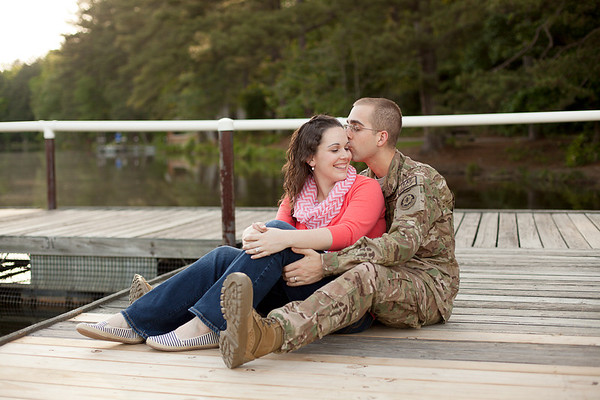 Chris + Michelle - Pre-Deployment