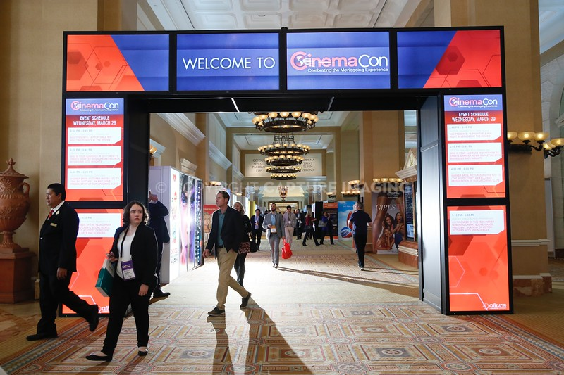 The Signage at CinemaCon 2017