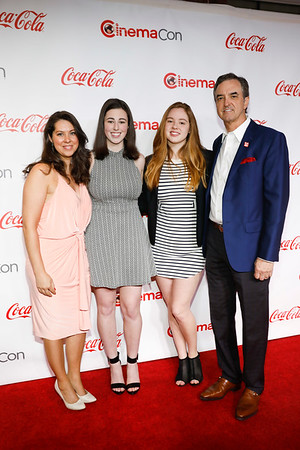 Coca-Cola and Regal Films Program Awards at CinemaCon 2018