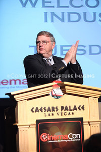 1204086-014    LAS VEGAS - APRIL 24: The All-Industry Breakfast during the 2012 CinemaCon Convention held at Caesars Palace on April 24, 2012 in Las Vegas, Nevada.  (Photo by Ryan Miller/Capture Imaging)