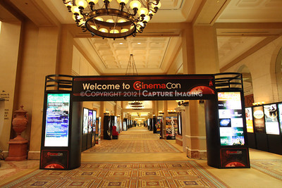 1204070-019    LAS VEGAS - APRIL 23: CinemaCon atmosphere images taken during the 2012 CinemaCon Convention held at Caesars Palace on April 23, 2012 in Las Vegas, Nevada.  (Photo by Ryan Miller/Capture Imaging)