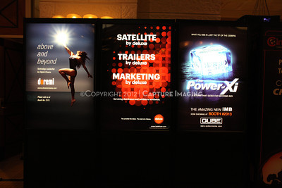 1204070-024    LAS VEGAS - APRIL 23: CinemaCon atmosphere images taken during the 2012 CinemaCon Convention held at Caesars Palace on April 23, 2012 in Las Vegas, Nevada.  (Photo by Ryan Miller/Capture Imaging)