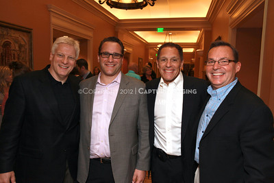 1204101-011     LAS VEGAS - APRIL 25: The Filmmakers Lunch Greetings during the 2012 CinemaCon Convention held at Caesars Palace on April 25, 2012 in Las Vegas, Nevada.  (Photo by Ryan Miller/Capture Imaging)