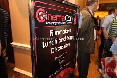 1204101-030     LAS VEGAS - APRIL 25: The Filmmakers Lunch Greetings during the 2012 CinemaCon Convention held at Caesars Palace on April 25, 2012 in Las Vegas, Nevada.  (Photo by Ryan Miller/Capture Imaging)