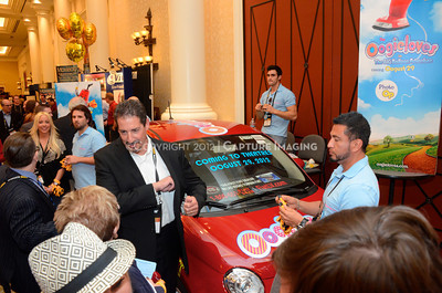 1204106-013     LAS VEGAS - APRIL 25: The Oogielov Car Givaway during the 2012 CinemaCon Convention held at Caesars Palace on April 25, 2012 in Las Vegas, Nevada.  (Photo by Ryan Miller/Capture Imaging)