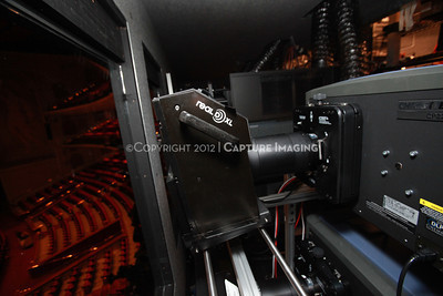 1204103-004     LAS VEGAS - APRIL 25: The CinemaCon Projection Booth during the 2012 CinemaCon Convention held at Caesars Palace on April 25, 2012 in Las Vegas, Nevada.  (Photo by Ryan Miller/Capture Imaging)