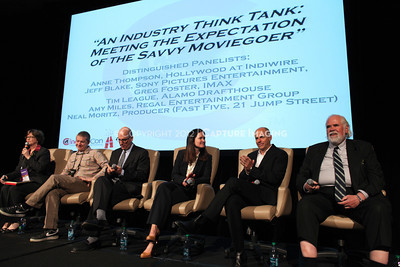 1204104-025    LAS VEGAS - APRIL 25: The All Industry Think Tank during the 2012 CinemaCon Convention held at Caesars Palace on April 25, 2012 in Las Vegas, Nevada.  (Photo by Garrett Davis/Capture Imaging)