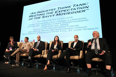 1204104-032    LAS VEGAS - APRIL 25: The All Industry Think Tank during the 2012 CinemaCon Convention held at Caesars Palace on April 25, 2012 in Las Vegas, Nevada.  (Photo by Garrett Davis/Capture Imaging)