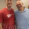 Leon Whaley and USN Lt. Cmdr Tim White