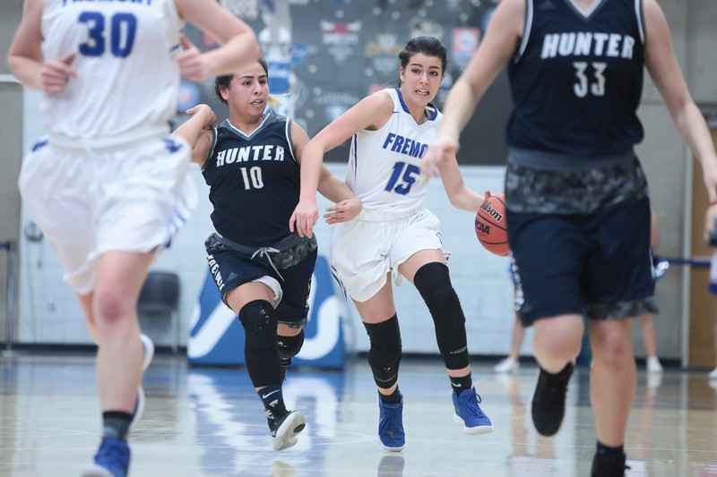 Fremont battles Hunter during the UHSAA 6A Girls State Basketball Tournament on Tuesday, Feb. 20, 2018, at Salt Lake Community College in Taylorsville. Fremont went on to defeat Hunter, 58-20.