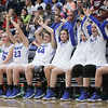 Fremont battles Bingham in the UHSAA 6A Girls State Basketball Championship on Saturday, Feb. 24, 2018, at Salt Lake Community College in Taylorsville.  Fremont went on to defeat Bingham, 61-47.