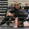 Ivy and Apsen Holyoak compete in the Amazonian Battle Series girls wrestling tournament on Saturday, Feb. 23, 2019, at the Northridge High School in Layton.