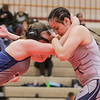 Nayeli Huerta competes in the Amazonian Battle Series girls wrestling tournament on Saturday, Feb. 23, 2019, at the Northridge High School in Layton.