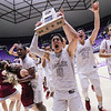 Layton Christian defeated Parowan 43-36 winning the 2A Boys State Championship basketball game at the Dee Events Center in Ogden, Saturday, Feb. 23, 2019.