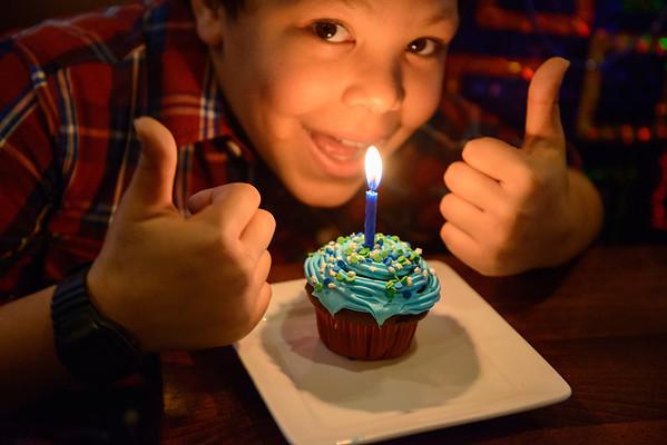 Brenden's Birthday Party 030214