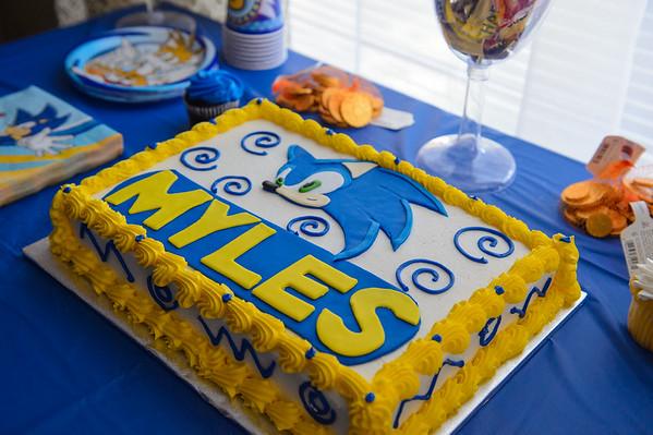 Myles 7th Birthday Party  - Favorites 072515