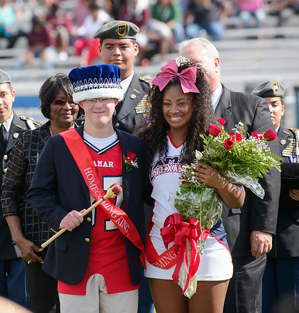 Jaz'myne Perry - LHS Homecoming Queen - 102916