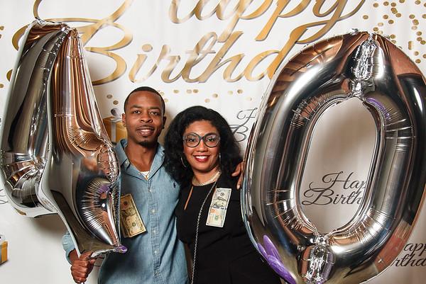 Erica & Ellery's 40th Birthday Photo Booth 033118