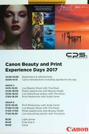 Canon Professional Services (CPS) Beauty and Print Workflow Experience session